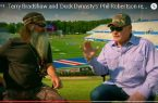 Terry Bradshaw and Phil Robertson of Duck Dynasty